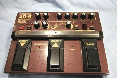 BOSS AD-8 Boss Acoustic processor for acoustic guitar effector