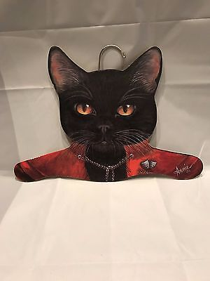 Cat Face Decorative/Novelty Wooden Clothes Hanger- Urban Outfitters