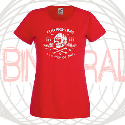 Camiseta Mujer Foo Fighters