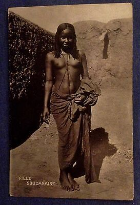 Vintage Postcards. Card from Sudan. (PPP)