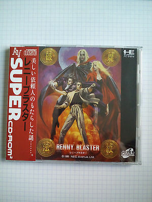 Renny Blaster New Mint Scelle Pc Engine Very Rare