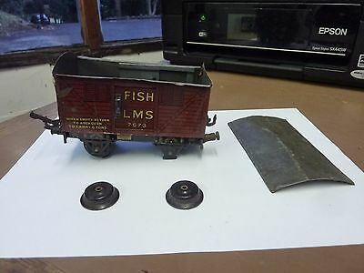 Marklin O Gauge Lms ' Fish Wagon'- See Pics For Condition(Spares Or Repairs)