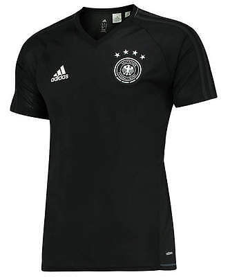 Allemagne DFB Germany Adidas Maillot Entreinment Noir 2017 Homme