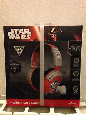 Turtle Beach Star Wars X-Wing Pilot Gaming Headset PS4, Xbox One, PC, nuove,new