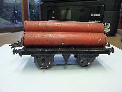 Hornby O Gauge Pre War ' Cylinder Wagon' - See Pics For Condition