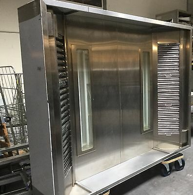 Extraction canopy/hood for pizza oven