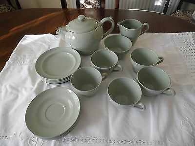 Spode Tea Set (Green)