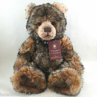 Are you looking for Charlie Bears Hubble? Retired, photos of actual bear.