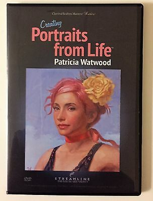 Patricia Watwood: Creating Portraits From Life - Art Instruction DVD