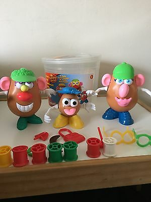 Playskool Mr Potato head And Family 30+ Pieces in Tub