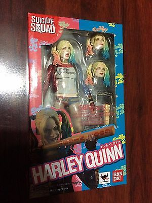 BANDAI TAMASHII NATIONS S.H. FIGUARTS HARLEY QUINN SUICIDE SQUAD Action Figure