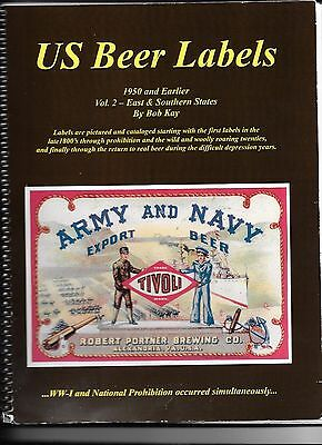 US Beer Labels, Vol 2 East & Southern States- Book