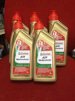 Castrol ATF Multivehicle - Automatic Transmission Fluid - 5 Litres: 5 x 1L