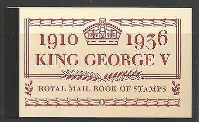 Great Britain 2010 King George V prestige booklet (BK193) MNH