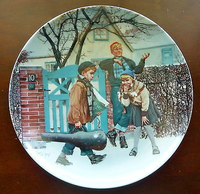 BING & GRONDAHL - ROAD TO VIRTUOSITY/BOY w/VIOLIN - COLLECTOR PLATE  MINT IN BOX