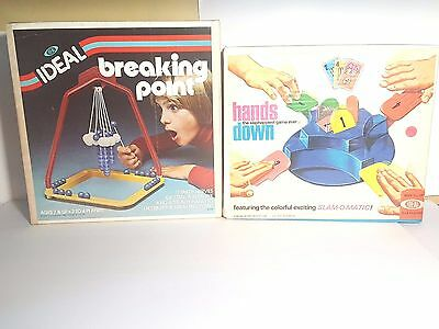 Vintage Indeal Games - Breaking Point + Hands Down New In Box