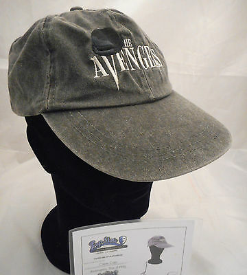 THE AVENGERS 1998 Movie CREW/JW Production Company BASEBALL CAP with COA