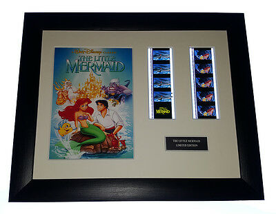 THE LITTLE MERMAID 35mm FRAMED AND MOUNTED FILM CELL PRESENTATION