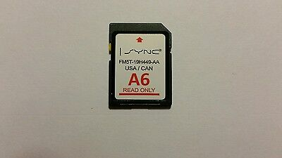 NEW A6 2015 MAP UPDATE Ford Focus Fusion Escape Edge Explorer SD Navigation CARD