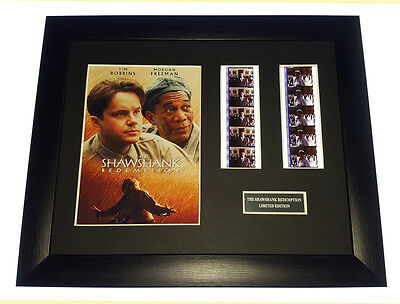 THE SHAWSHANK REDEMPTION 35mm FRAMED AND MOUNTED FILM CELL PRESENTATION