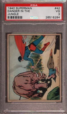 1940 Superman #42 Danger In The Pop 12 Psa 3 N2387927-284