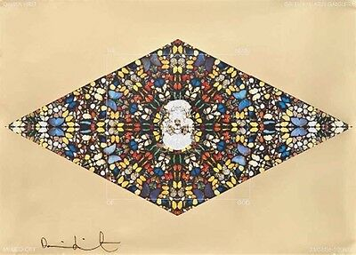 Damien Hirst — The Death of God - Signed Poster Limited Edition Like Tracey Emin