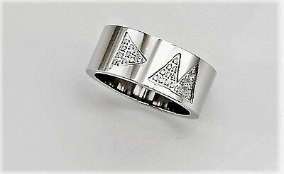 Depeche Mode Ring Delta Machine (with stones) free shipping