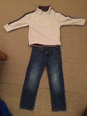 Boys Clothing Bundle Age 5 Age 5-6 Jeans And Fleece NEXT Mini B
