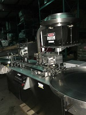 POWDER FILLER CAPPER LINE S/S Rotary Feeding & Accumulation Tables