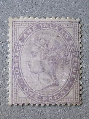 Great Britain GB 1881 1d Lilac 14 Dots SG170 Fine MH