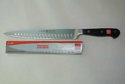 New Wusthof Classic 9 inch Hollow Ground Edge NSF PEtec Carving Knife 4524/23