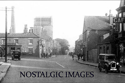 PHOTO TSKEN FROM A 1930's IMAGE OF DARLEY's BREWERY THORNE