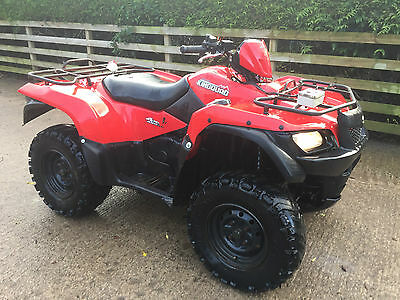 SUZUKI KING QUAD 450 4x4 FARM QUAD BIKE ATV - SMALLHOLDING