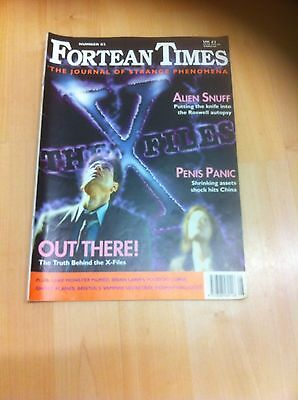 Fortean Times 82 Alien Snuff, Penis Panic, Out There - Truth Behind the X Files