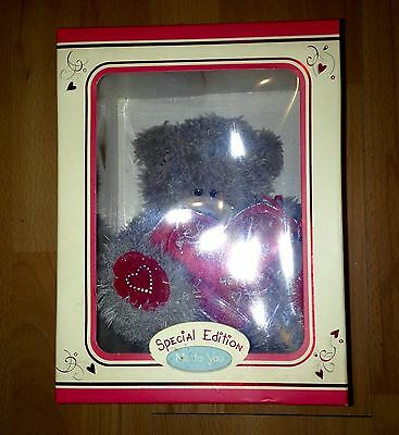 New Rare Bnib Boxed Me To You Special Edition Tatty Teddy Bear ~ Key To My Heart