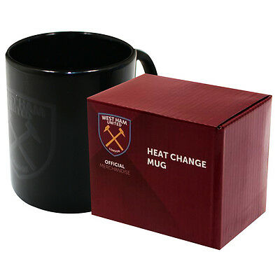 West Ham United Fc New Heat Changing Ceramic Tea Coffee Latte Mug Cup Xmas Gift