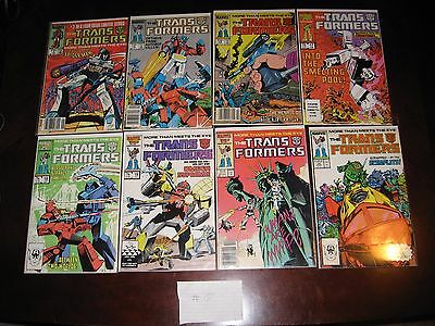 Transformers Comic Lot original serie 15 comics Lot #15