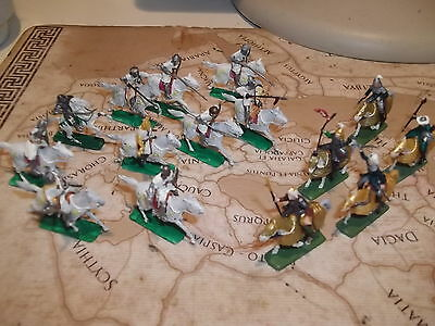 1 72 plastic soldiers italeri teutonic cavalry and mongol cavalry