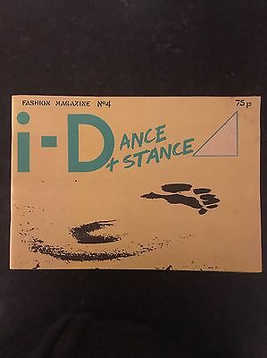 i-D Magazine No 4 - April 1981  Rare And Hard To Find.
