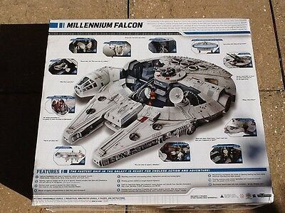 Star Wars  Legacy Collection Millenium Falcon Hasbro with box + shipping box