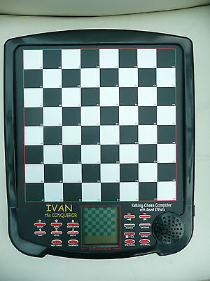 ideal gift  Ivan the conqueror electronic Chess Computer by excalibur