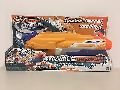 NERF Super Soaker Double Drench - Pump-action water blaster