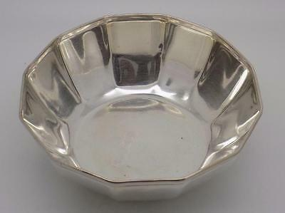 Vintage Solid Silver Medium Size Bowl - Stamped - Made in Italy