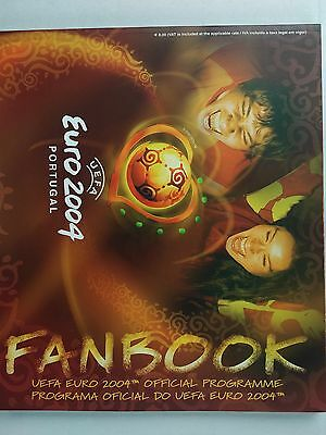Uefa Euro 2004 Official Tournament programme and guide Mint condition