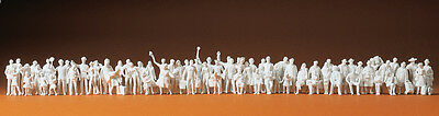 Preiser 75100 Train staff, Passenger, Passover suppliers, unpainted, TT