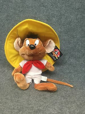 "15"" Stuffed Plush Speedy Gonzales Loony Toons Six Flags Warner Bros Very Rare!"