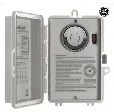 GE 15251 Indoor 24Hr Mechanical Time Switch