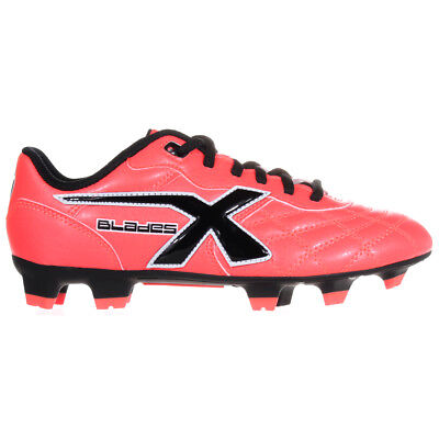 X BLADES Young Legend Flash Kids Rugby Boot Crimson