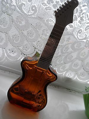 avon perfume plastic  and glass guitar aftershave