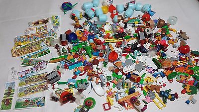 Kinder Toys #1 Random Lot Plastic Toys from Surprise Eggs Capsules